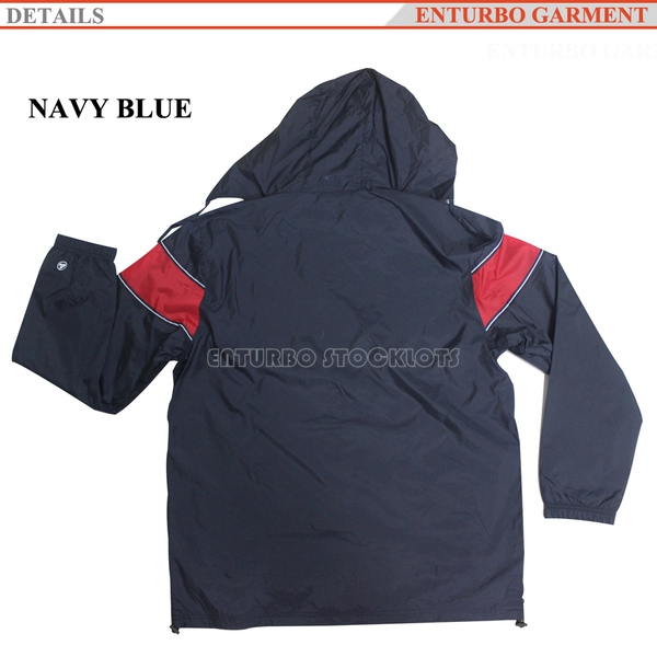 navy blue rain jacket men's