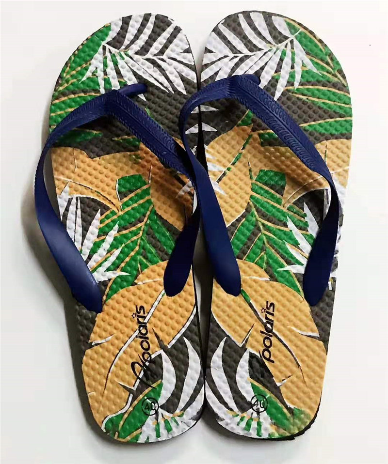 Mens Fashion Printing Slipper