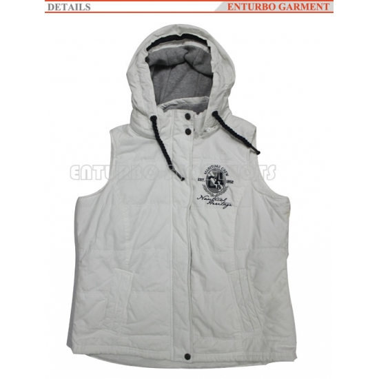Cheap and goog quality winter vest stock lots