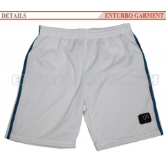Polyester men's sports shorts