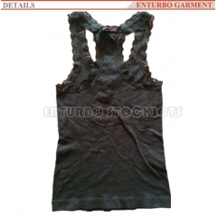 Ladies lace vest top