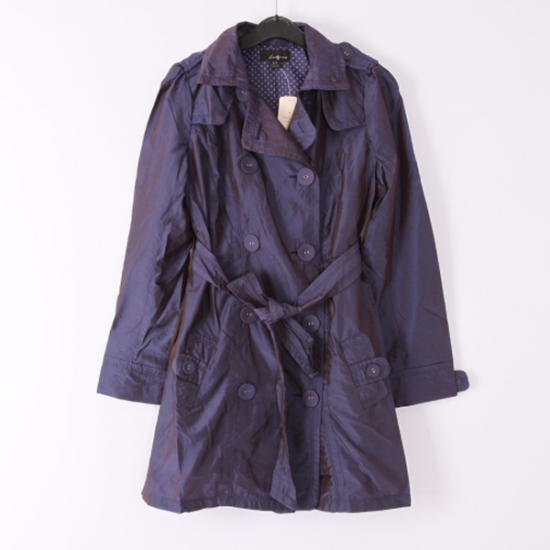 Purple Parka Coat